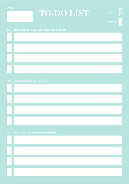 To-Do & Bucket List Notepads