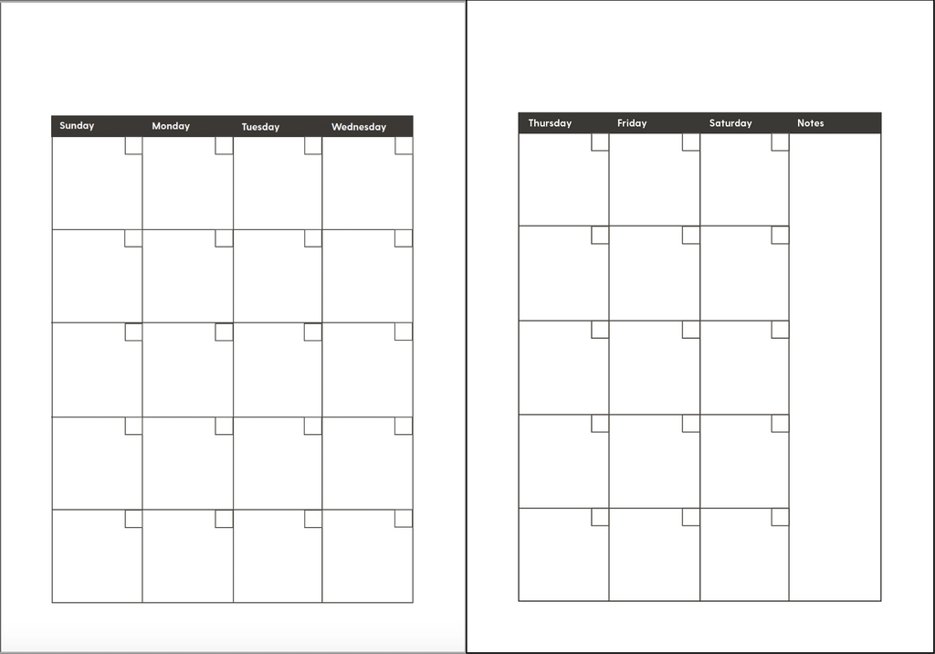 Printables: Happines Planner Samples