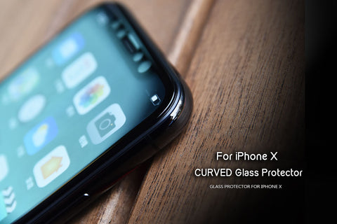 DevilCase CURVED FULL Glass Screen Protector for APPLE iPhones X