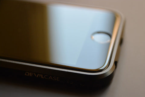 DevilCase CURVED FULL Glass Screen Protector for APPLE iPhones 6 | 6s | 6+ | 6s+