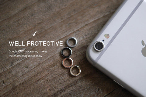 DevilCase Aluminum Lens Protector Ring for iPhone 6 | 6+ | 6s | 6s+