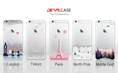 APPLE iPhone 6 | 6s Back Cover Skin - TRAVEL THE WHOLE WORLD
