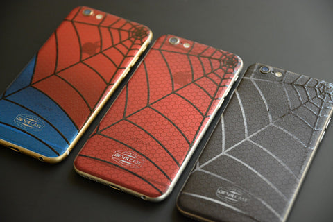 ASUS Zenfone 2 Back Cover Skin - SPIDER WEB + COMB