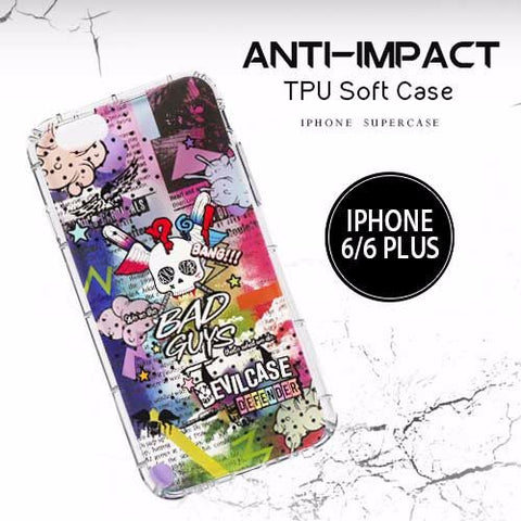DevilCase Anti-Impact TPU Case - APPLE iPhone 6+ | 6s+ (SERIES 4)