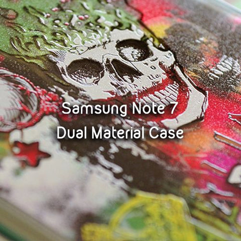 DevilCase Dual-Material Anti-Impact TPU Case - SAMSUNG Note FE (Fan Edition)