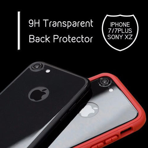 DEVILCASE 9H Transparent Back Protector