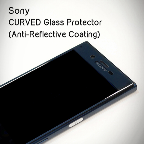 DevilCase CURVED FULL Glass Screen Protector (AR Coating) for SONY XZ, XZs & X Compact