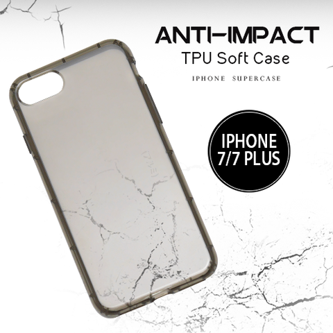 DevilCase Anti-Impact TPU Case - APPLE iPhone 7 | 7+ | 8 | 8+ (GRAY CASE)