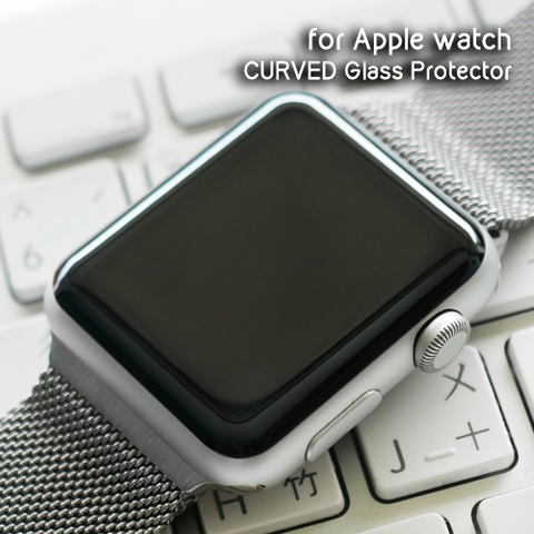 DevilCase Curved Glass Protector for Apple Watch