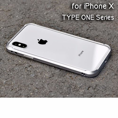 APPLE iPhone X TYPE ONE Aluminum Alloy Bumper Case