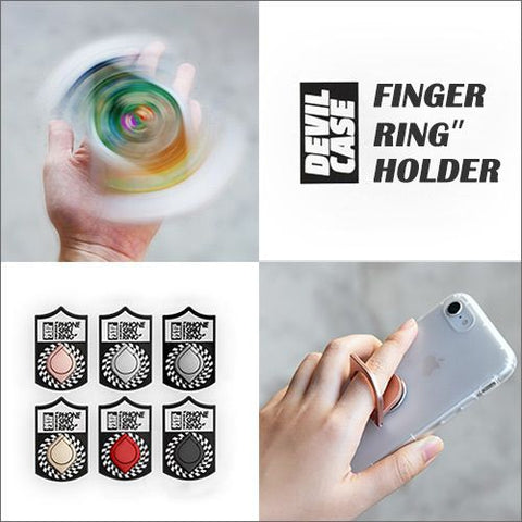 Devilcase Aluminum Finger Ring Spinning Holder