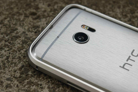 HTC 10 Back Cover Skin - TRANSPARENT