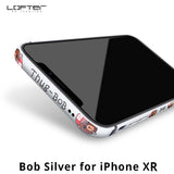 LOFTER | Mok & Bob Aluminum Bumper Case with Silicone Frame Cover for iPhone 11 or iPhone XR