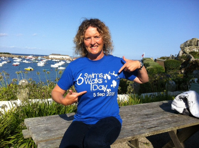 Larisa Green - Scilly Swim