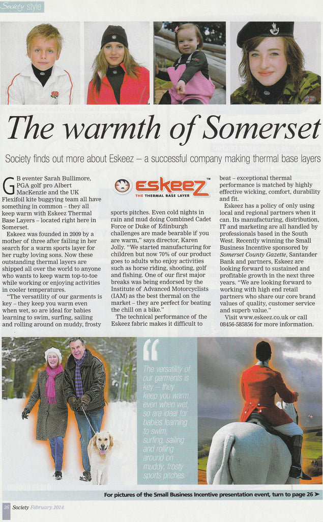 The Warmth of Somerset