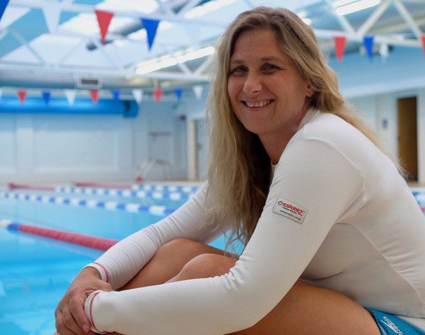 Sanchia Reed, Chief Coach, Clevedon Swimming Club - open water swimmer, extreme runner, mother