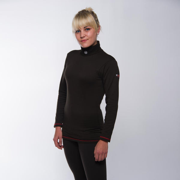 Women's Super Thermal Base Layer (Black)