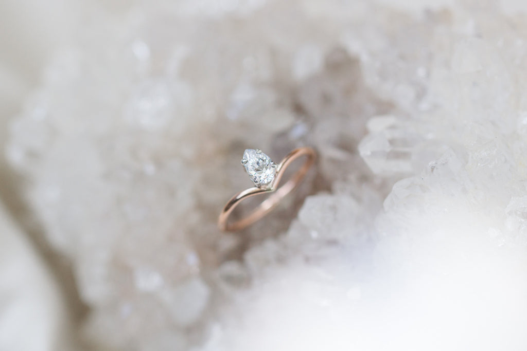 livlov bespoke alternative bridal engagement ring