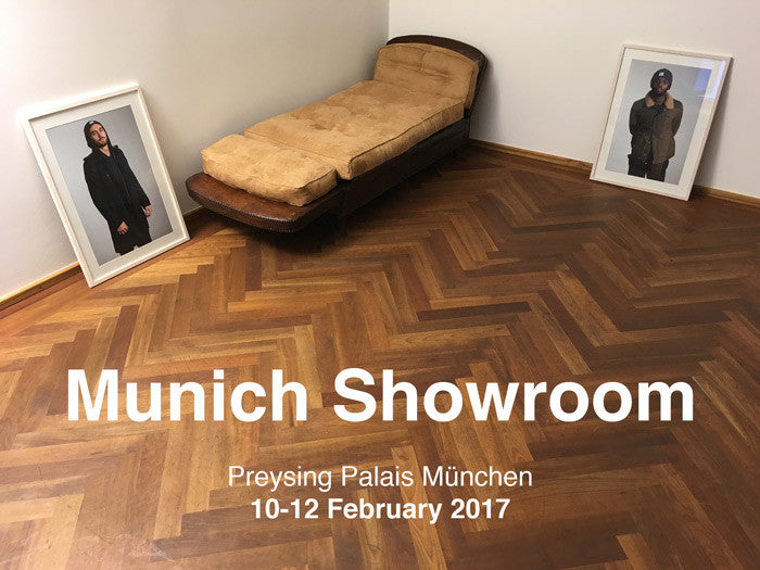 Munich Showroom 10.2.-12.2.17