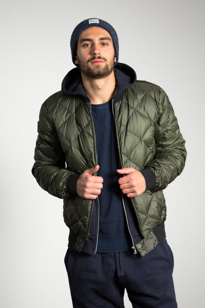 Liner Blouson, olive Thermore EcoDown