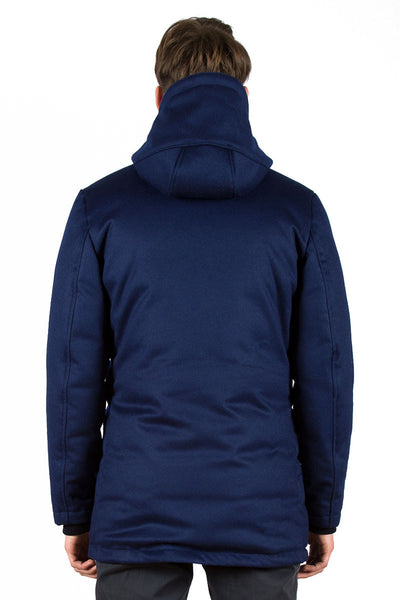 Loden Down Parka Airforce Blue - back