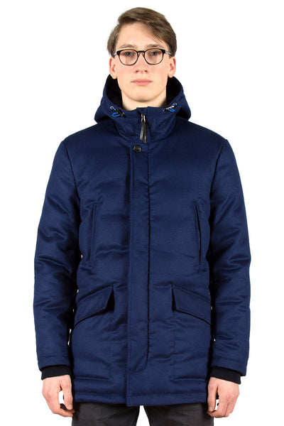 Loden Down Parka Airforce Blue - front