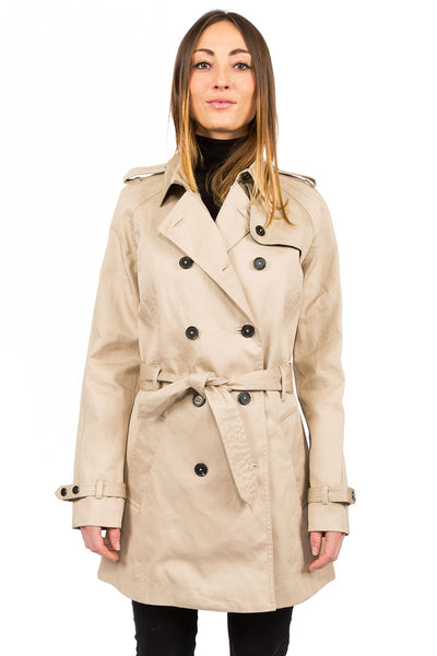 Rainproof Trench camel - front