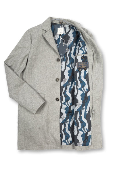Covert Coat, stone
