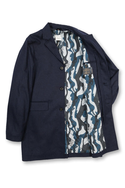 Covert Coat, navy