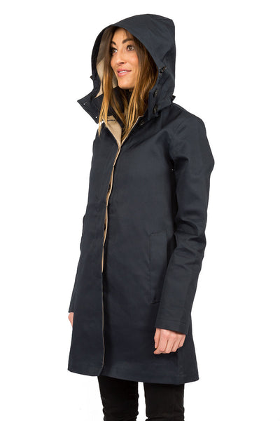 Rainproof MAC navy - side