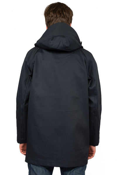 Rainproof MAC navy - back