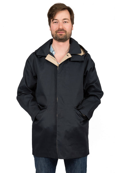 Rainproof MAC navy - front
