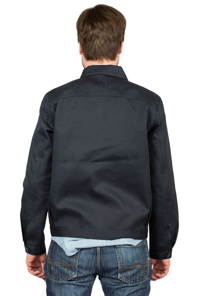 Worker Jacket blue - back