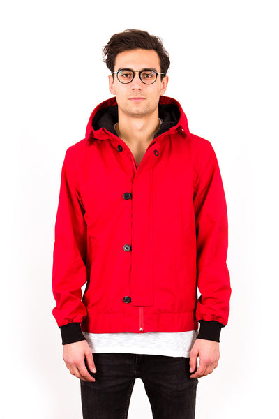 w'lfg'ng (wolfgang) Snow Smock ruby - Cotton Bomber Jacket