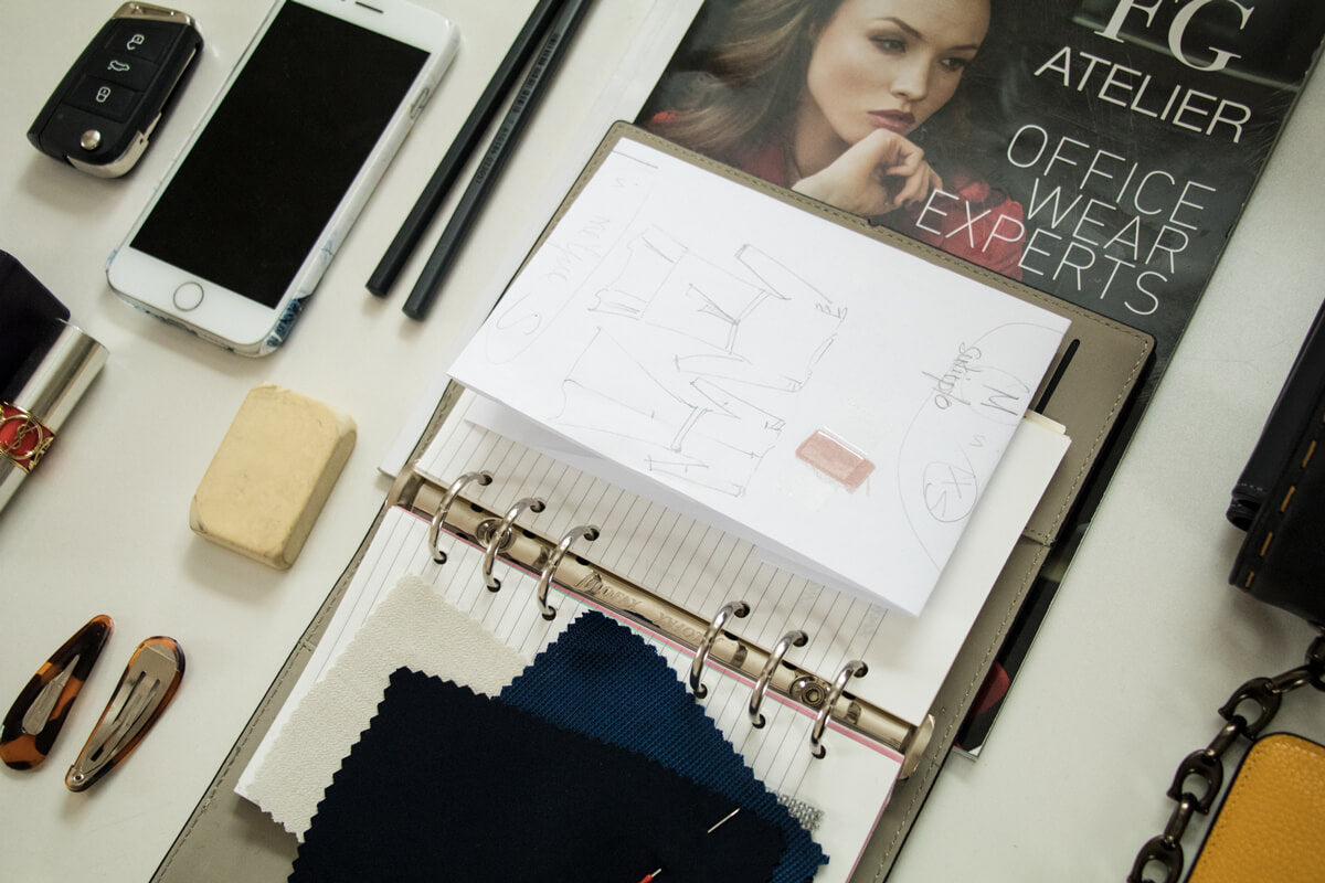 WHAT'S IN MY BAG: Monika Peciulyte, the Creative Director of FG ATELIER