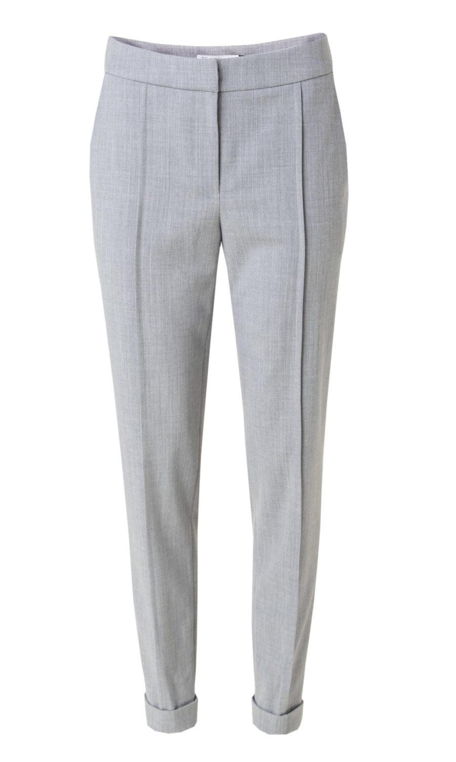 Grey stretch wool pants