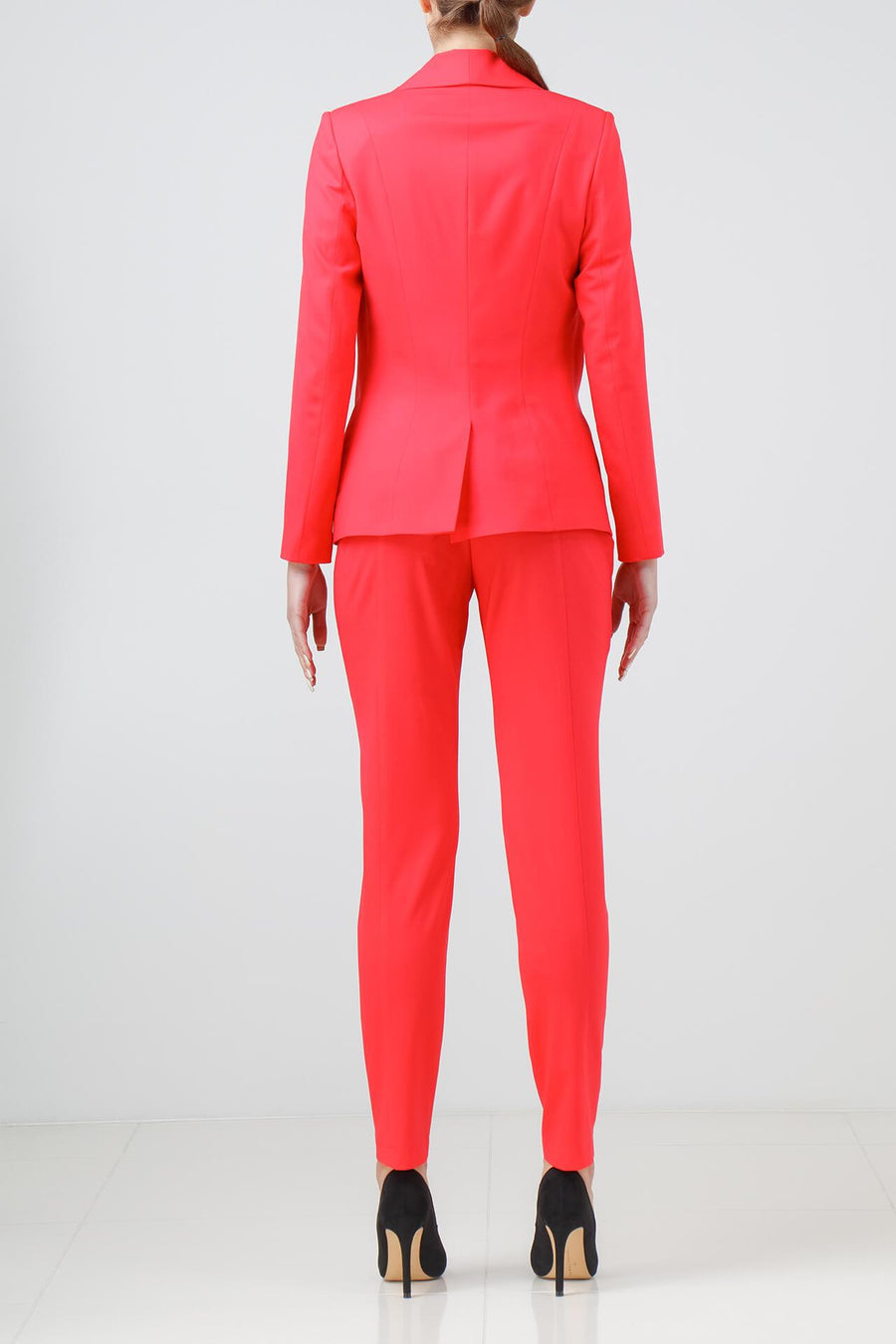 CORAL STRETCH-WOOL SUIT