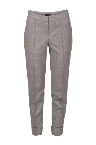 Grey wool and cashmere pants