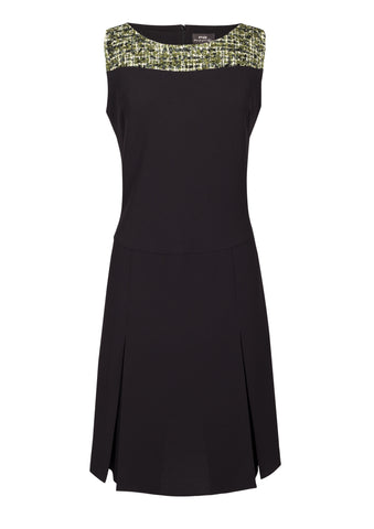 Punto Milano jersey dress