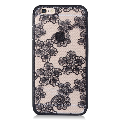 Black Flower-Phone Case