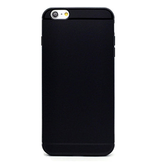 Black Plain-Phone Case