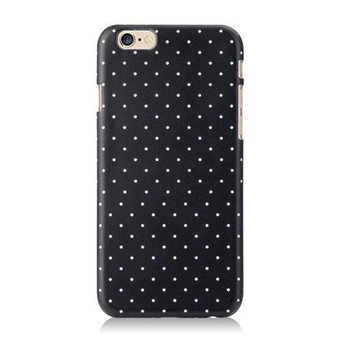 Black Polka-Phone Case