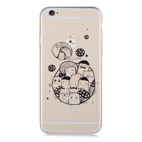 Blurps Transparent-Phone Case
