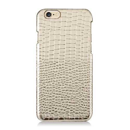 LUXE Gold Leather-Phone Case