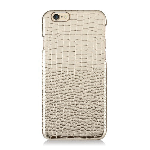 LUXE Leather Gold-Phone Case