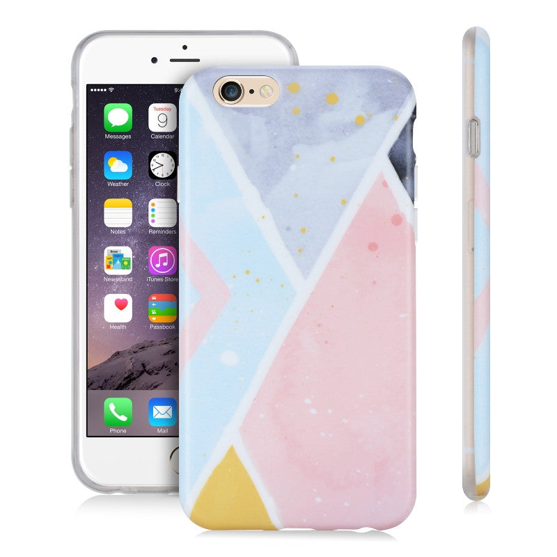 Pastel Panels Pink-Phone Case