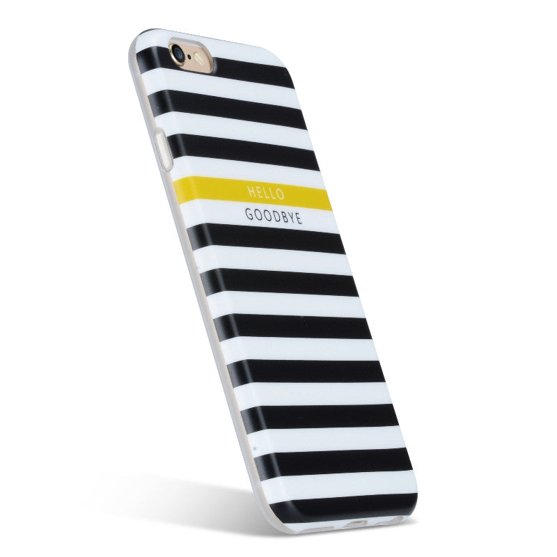 Perry Stripes Black-Phone Case