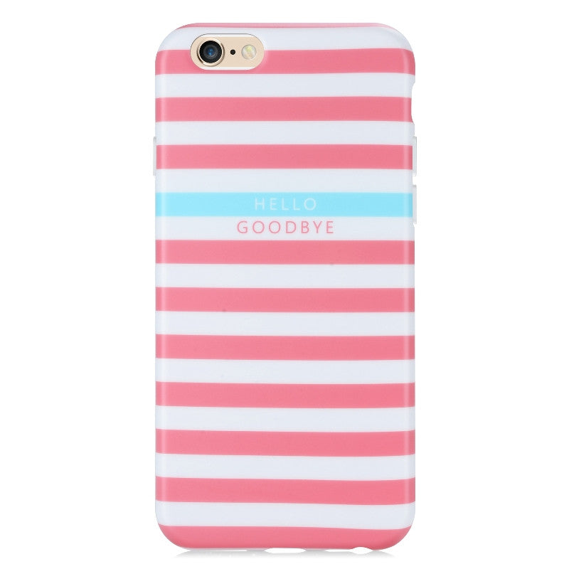 Perry Stripes Pink-Phone Case