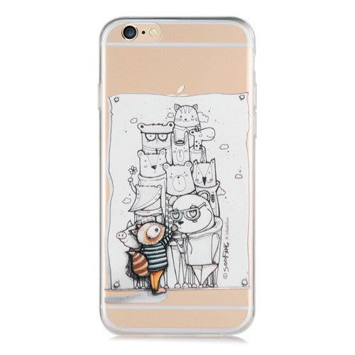 Portrait Transparent-Phone Case