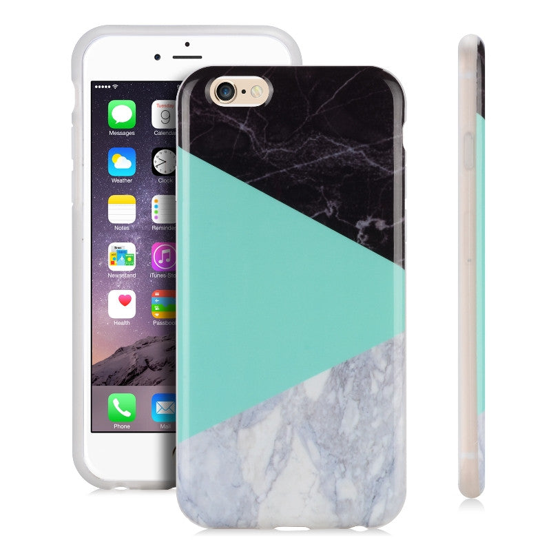 Teal Box Marble-Phone Case